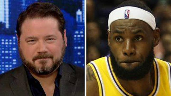 Ben Domenech reacts to LeBron James' comments on Hong Kong