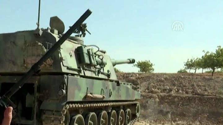 'Dangerous evacuation' of US troops in Syria underway, senior US defense officials say