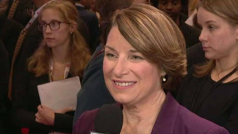 Sen. Amy Klobuchar on pushing back against Elizabeth Warren on debate stage