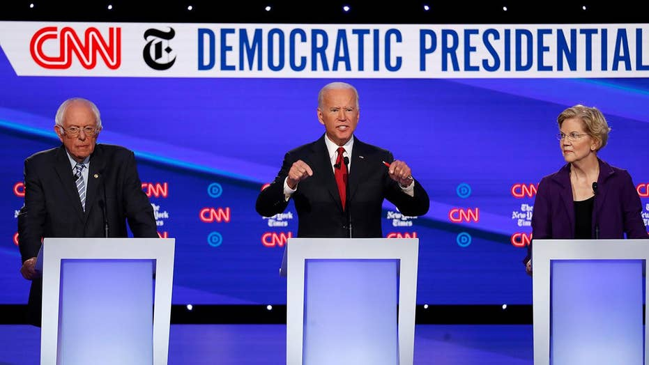 Democrats push for impeachment during Democratic debate in Ohio