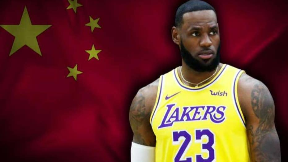 Laura Ingraham responds to LeBron James' out-of-touch China comments