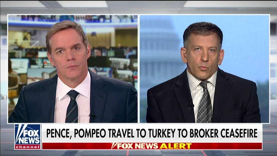 Pence, Pompeo travel to Turkey to broker ceasefire