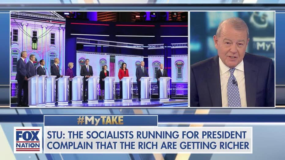 Varney warns 2020 Dems after new report shows income increase for middle-class under Trump admin: 'It's awfully hard to run against prosperity'