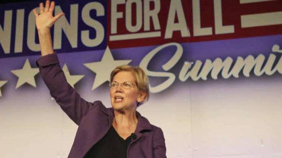 2020 Democrats treating Elizabeth Warren like the front-runner