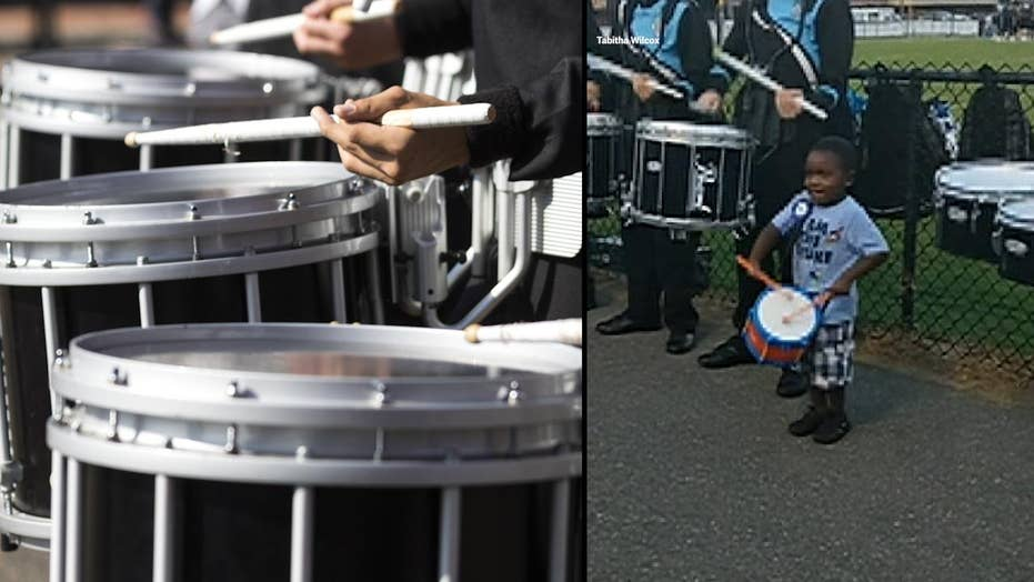 4-year-old's adorable drumline debut goes viral