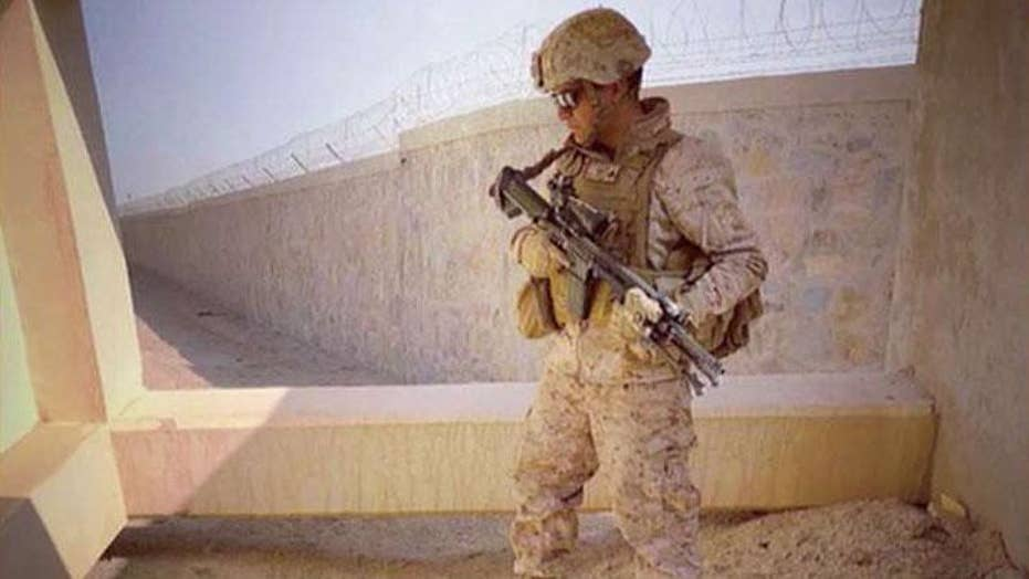 Retired US Marine walked more than 800 miles to raise awareness about veteran suicide