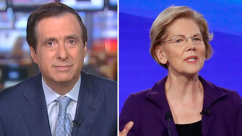Howard Kurtz: Lack of media scrutiny giving Warren an easy ride