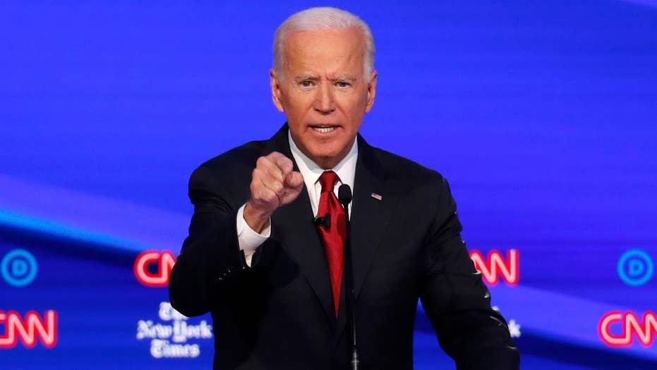 Network lobs softballs as Joe Biden defends son's Ukraine dealings during debate