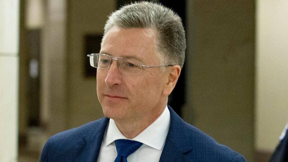 Kurt Volker returns to Capitol Hill to review impeachment interview transcript