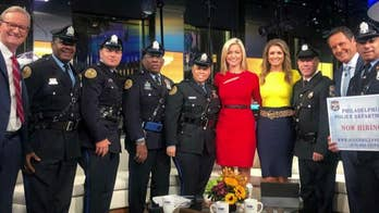 Philadelphia police officers visit 'Fox & Friends' in hopes of recruiting new hires