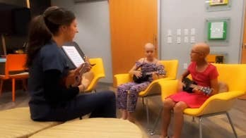 Pediatric cancer patients write song together