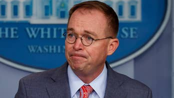 Mick Mulvaney defends President Trump's actions in Ukraine outreach