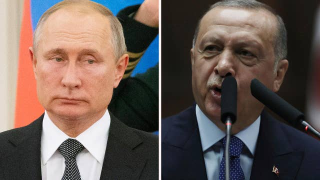 Putin invites Erdogan to Russia as Turkish leaders prepare for ceasefire talks with Pence, Pompeo