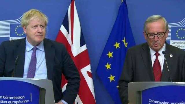 UK, EU tout Brexit agreement in joint appearance: 'Deal is about people and peace'