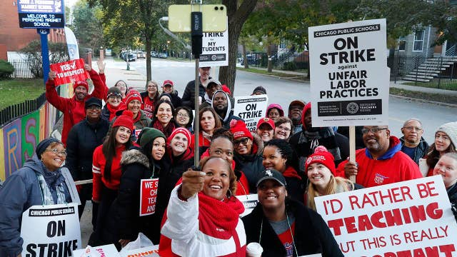 Chicago teachers strike cancels classes in nation's third largest system