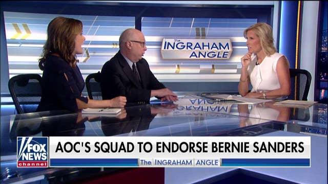 Laura Ingraham says AOC prepping for a POTUS run later on
