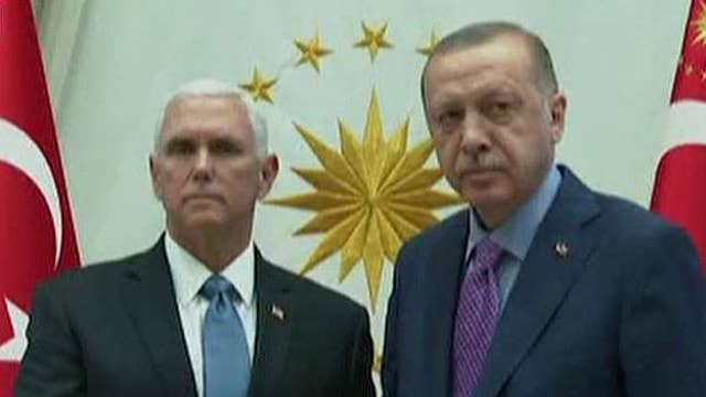 Gen. Jack Keane says the threat of US sanctions on Turkey led to cease-fire in Syria