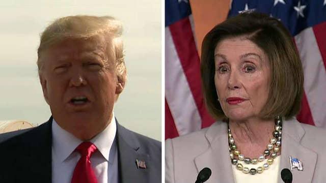President Trump and Speaker Pelosi trade 'meltdown' insults