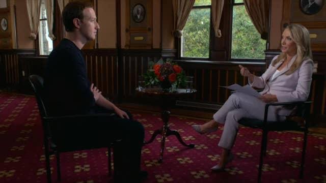 Mark Zuckerberg on Facebook policing political content