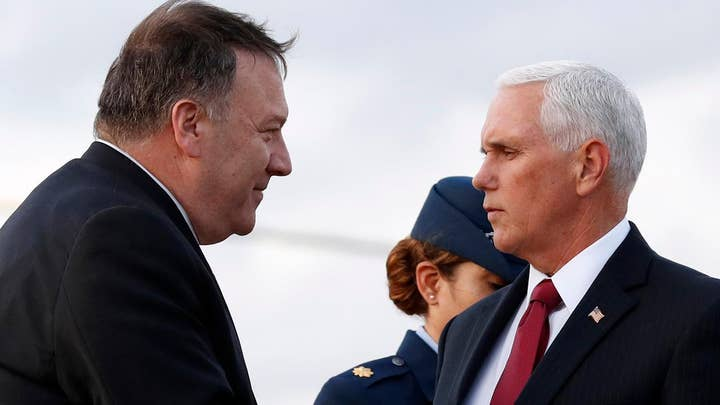 Pence, Pompeo arrive in Turkey in hopes of brokering peace deal
