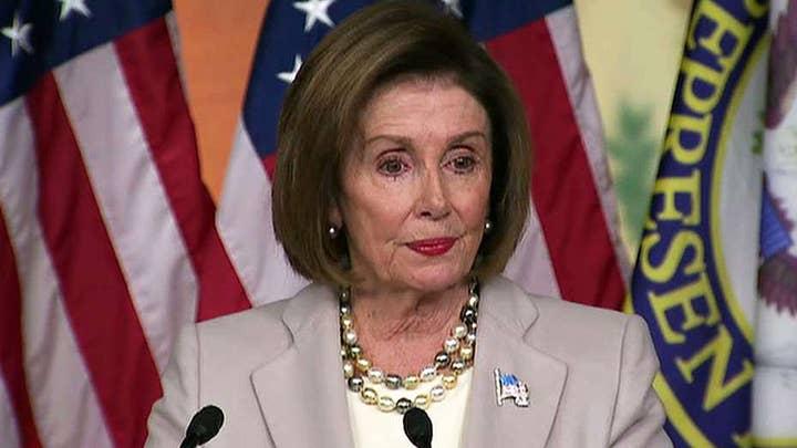 Speaker Nancy Pelosi defends House Democrats' impeachment inquiry process