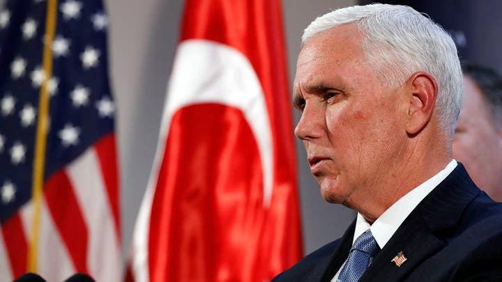Jennifer Griffin reports on ceasefire deal with Turkey to pause incursion into Syria