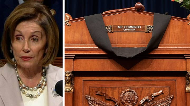 House Speaker Pelosi mourns Rep. Elijah Cummings: He's now with the angels