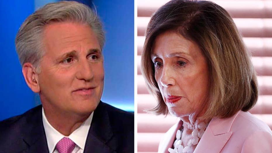 Rep. McCarthy: Pelosi refused to read Trump's letter to Erdogan