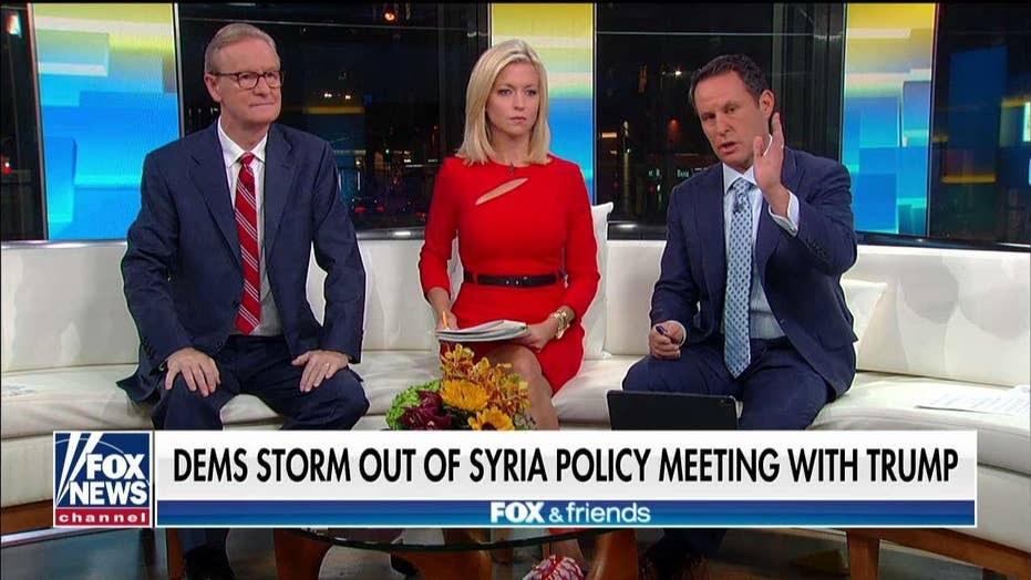 Fox & Friends Hosts Recap POTUS and Democratic meeting on Turkey