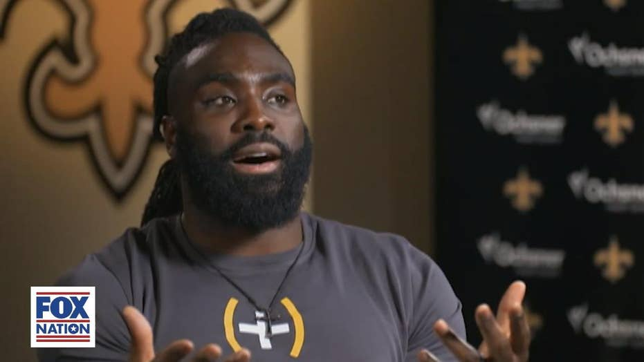 Demario Davis turns NFL fine into charity windfall after 'Man of God' headbands sales explode