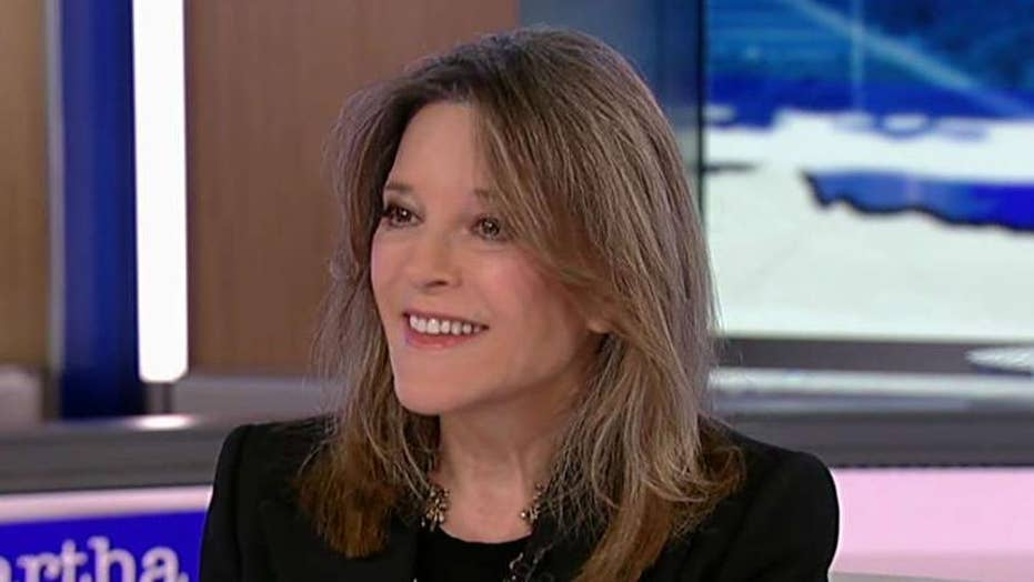 Marianne Williamson: No way I'm dropping out