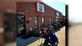 Barber accommodates boy with autism, cuts hair outside
