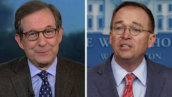 Chris Wallace on firestorm over Mick Mulvaney's quid pro quo comment