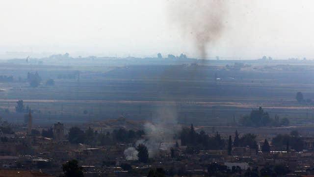 U.S. brokered ceasefire broken overnight as fighting rages in Northeast Syrian town