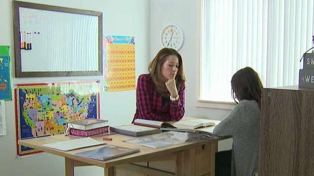 Homeschooling growing in popularity as more parents buck traditional school environment
