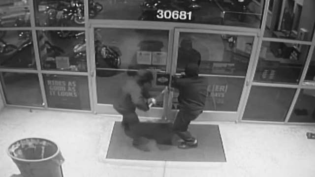 Thieves break into Harley-Davidson store in California, ignore motorcycles, steal leather