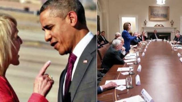 Jan Brewer calls out media for hailing Pelosi but vilifying her for pointing finger at president