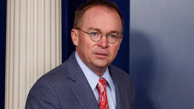 Trump administration deals with fallout from Mick Mulvaney quid pro quo comments