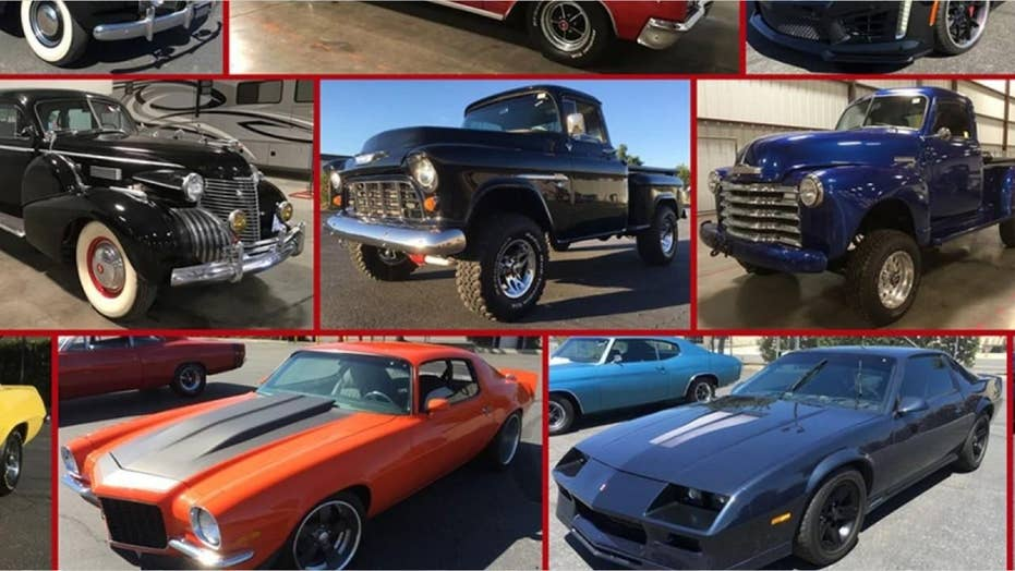 Massive car collection seized from owners of bankrupt DC Solar up for auction