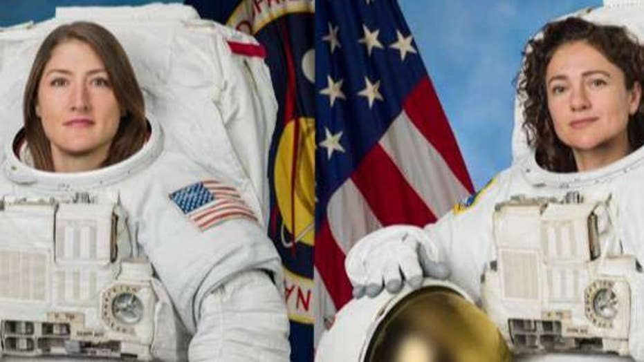 NASA conducts first all-female spacewalk outside International Space Station