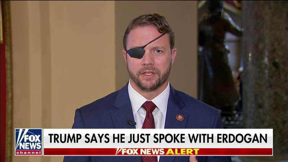Rep. Dan Crenshaw says process too chaotic in Turkey-Syria ceasefire
