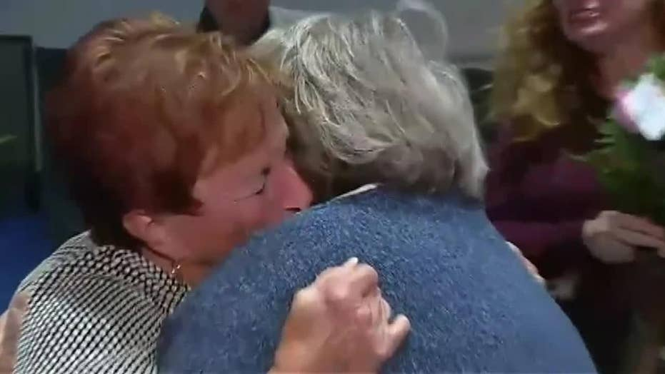 Two sisters discover each other through DNA test and meet for first time in 75 years