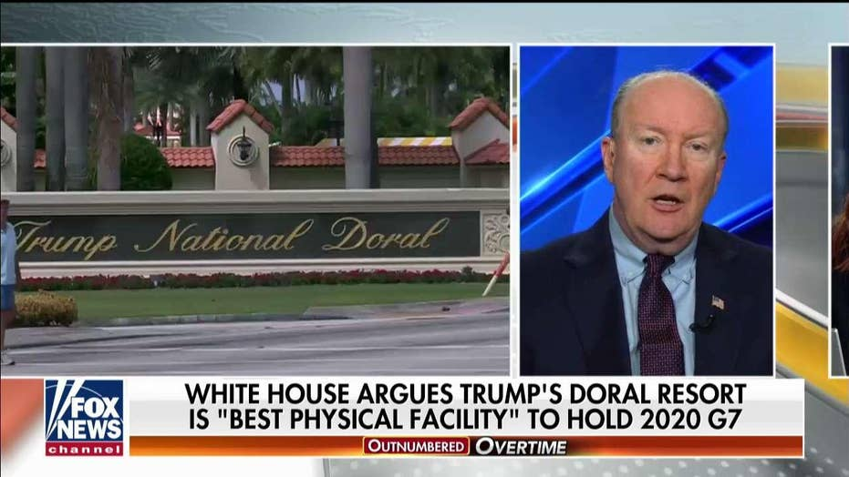 Andy McCarthy says White House gave Democrats a gift by selecting Doral for the G7 summit