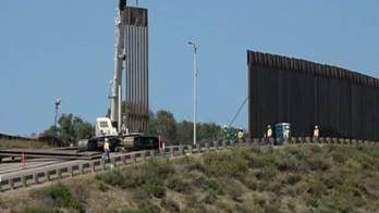 70 miles of new wall constructed on the US-Mexico border