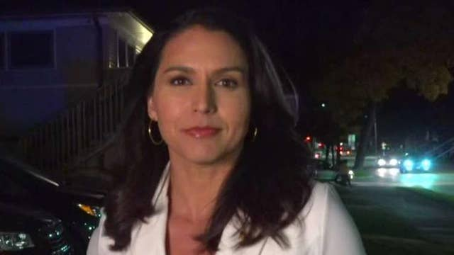 Tulsi Gabbard responds to Hillary Clinton's claims about her