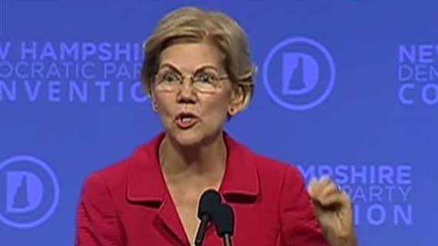 Elizabeth Warren tells the American public the economy isn't working for them