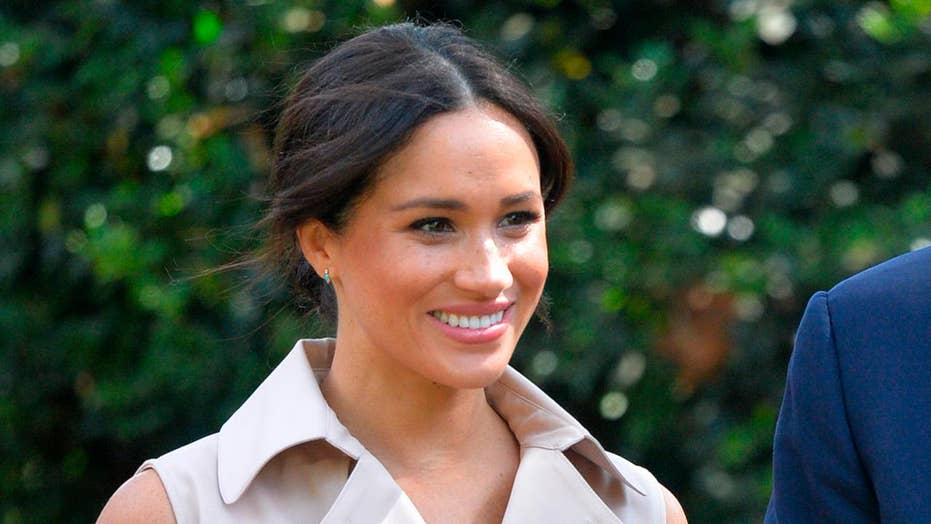 Meghan Markle gets romantic over being a new mom while vital in a spotlight