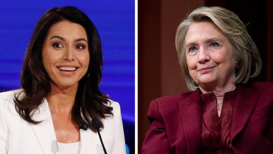 Gabbard, Clinton trade barbs over 'russian asset' accusation