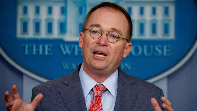 Mick Mulvaney fires back at those who say he admitted to quid pro quo between the US & Ukraine