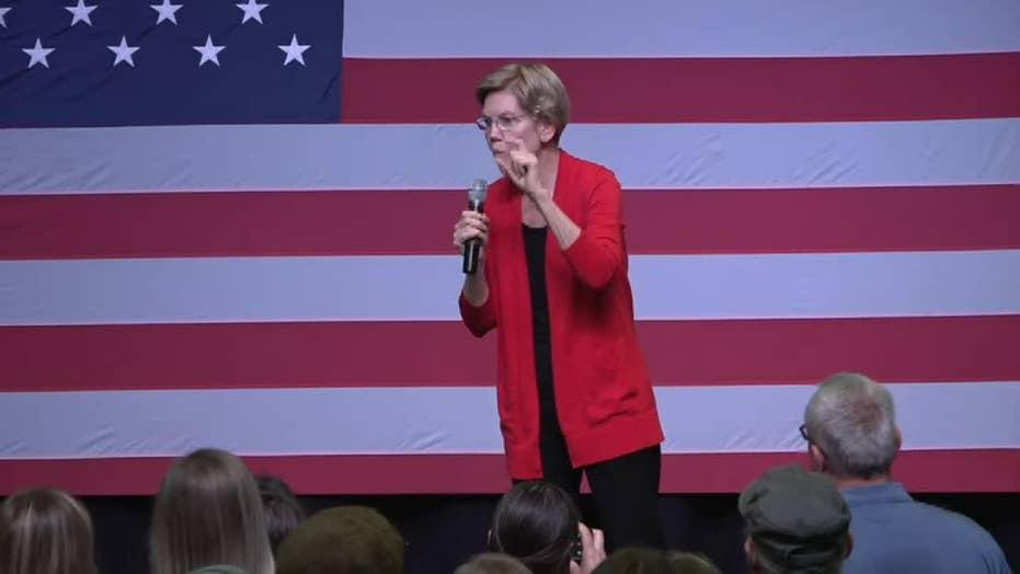 Elizabeth Warren talks Medicare for all